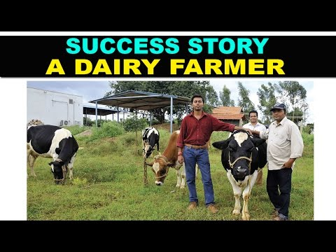 Must Watch : Success Story of A Dairy Farmer - Motivational (IT करियर से डेयरी उद्योग तक का सफ़र )
