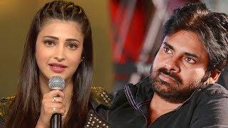 Shruti Haasan Opens About Pawan Kalyan