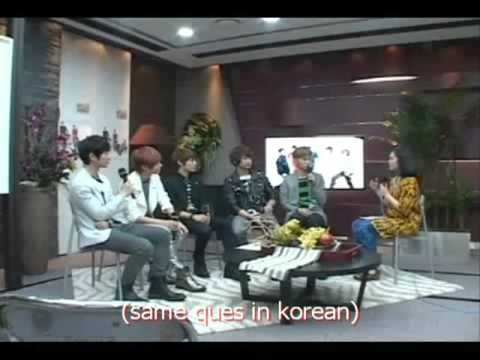 SHINee interview @ KBS world radio arab (eng sub) part 1