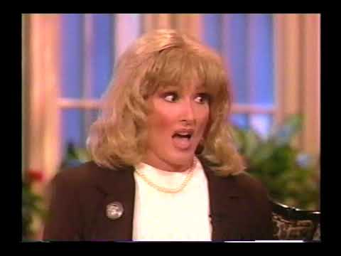 Roseanne Interviews Linda Tripp (Nora Dunn)