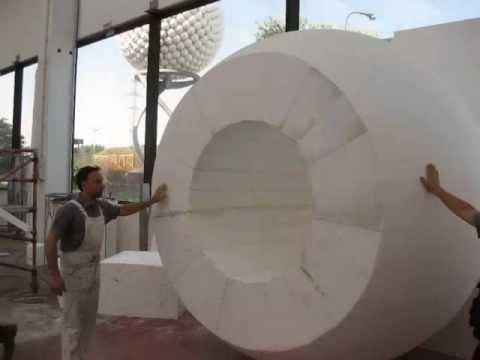 Palla da golf Chervò realizzata in polistirolo - Poliplast