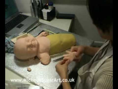 The Making of Sculpted Baby Cake