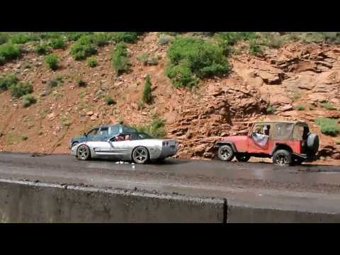 Colorado Mudslide Flash flood US Highway 24 - FULL VIDEO