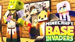 I FOUND LDSHADOWLADY'S HEAD! - Minecraft Base Invaders Challenge