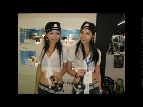 Sexy Show Girls of Computex 2007 Taiwan, Taipei