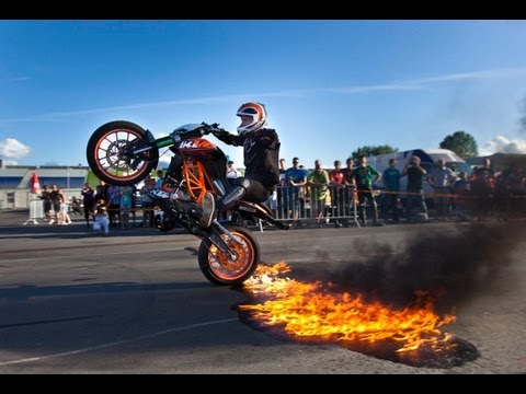 Rok Bagoros Freestyle Stuntshow KTM-Days 2012