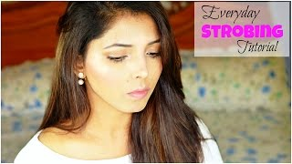 Everyday Strobing Makeup Tutorial For Indian Skin | Hina Attar
