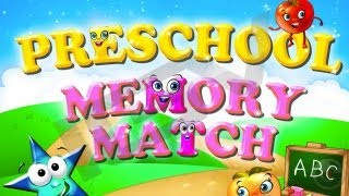 Preschool Memory Match and Learn : 6 in 1 Educational Matching Games for Kids HD