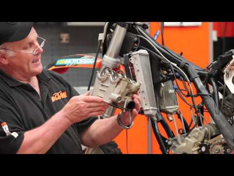 KTM 350EXC F extreme test with Adam Riemann