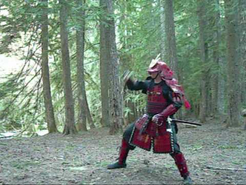 104-SPRING TRAINING. BOJUTSU AND KENJUTSU IN TRADITIONAL JAPANESE SAMURAI ARMOR Image 1