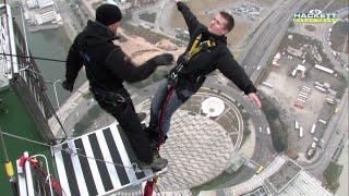 World's Highest Bungee Jump ᴴᴰ (Backwards!)