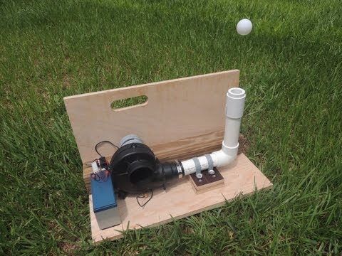 DIY Archery Target (Floating Ping Pong Ball). Archery trick shot target.
