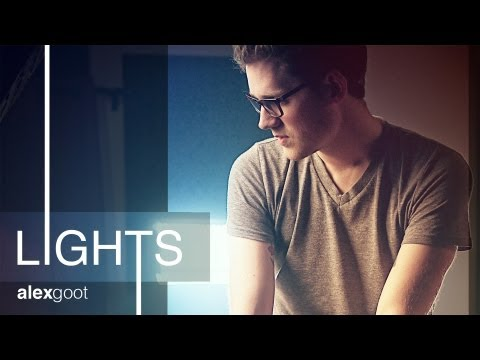 lights - Ellie Goulding - Official Cover Video - Alex Goot video