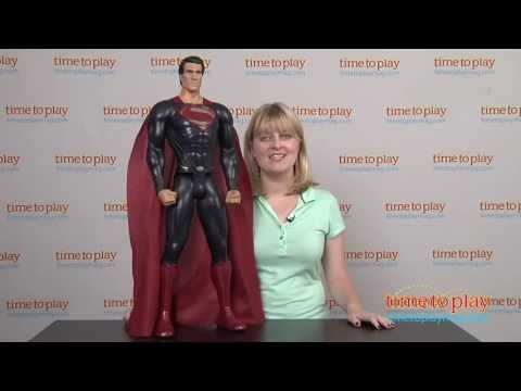 Man of Steel Giant Size Superman from Jakks Pacific