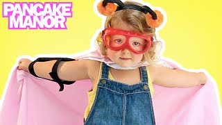 Superhero Song | Song for Kids | Pancake Manor