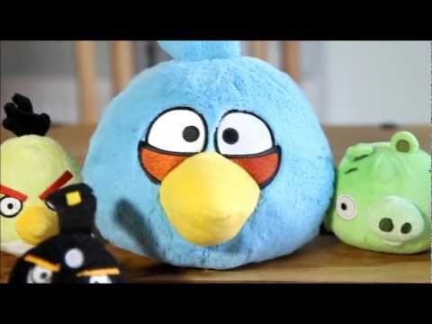 Angry Birds Toys Collection - Great Fun - Video