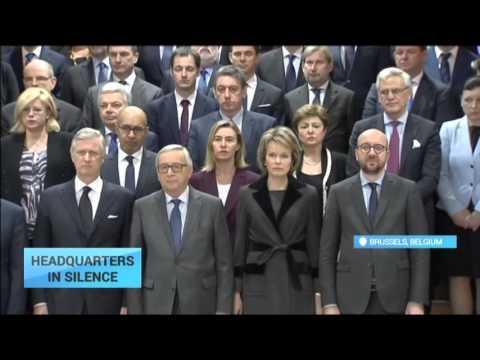 Brussels Attacks: Belgian King, Juncker, Valls, EU commissioners remember victims
