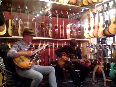 Rolf Jardemark & Erik Söderlind at No1 Guitarshop III