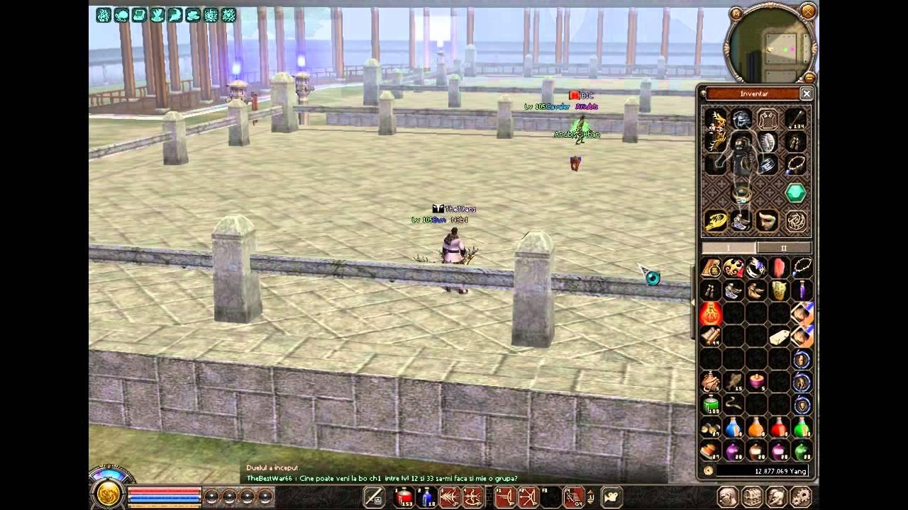 Metin2 Ninja >> Metin2.RO GEMINI- N3b1 vs Anubis - YouTube