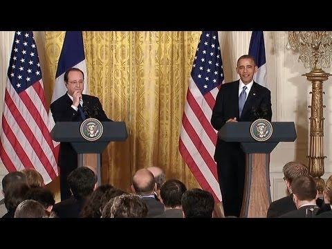 President Obama's Joint Press Conference With President Hollande