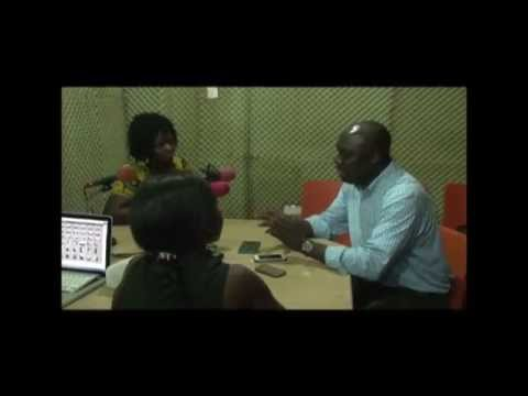 AUCC Broadcasting Students Interview Paul Ndiho