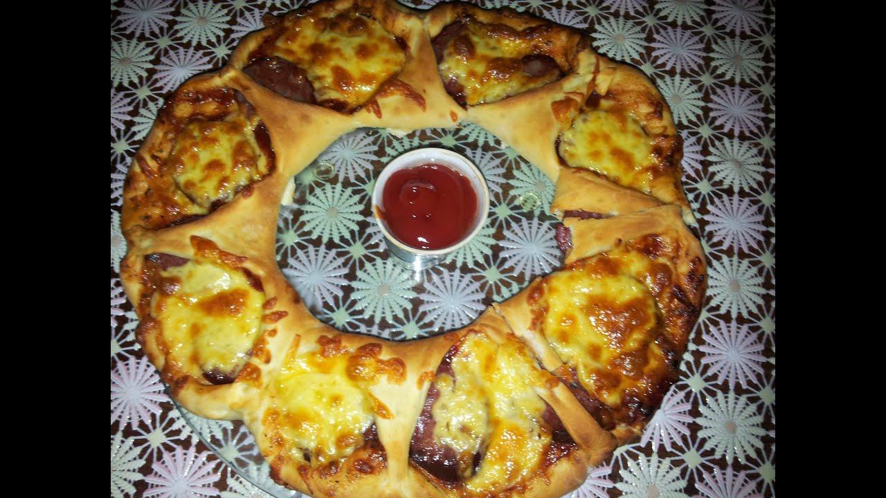 Пицца корона рецепт