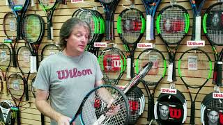MP Tennis Tip - Tennis Elbow Friendly Frames