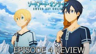 Sword Art Online Alicization Episode 4 Anime Review Swordsman