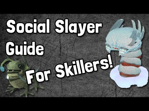 Runescape Social Slayer Guide for Skillers (With Commentary)