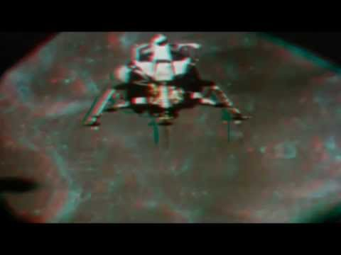 3D Moon Landing The Apollo Luna Missions (Anaglyph)