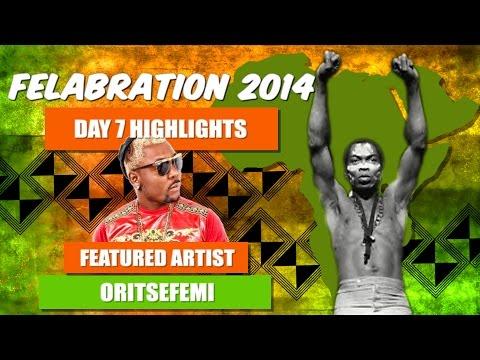 Oritse Femi's Performance at Felabration 2014
