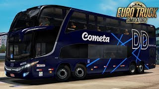 ETS 2 – Mod Bus   Cometa serviço DD - CWB/BH - Detail + EAA 48.1 MB