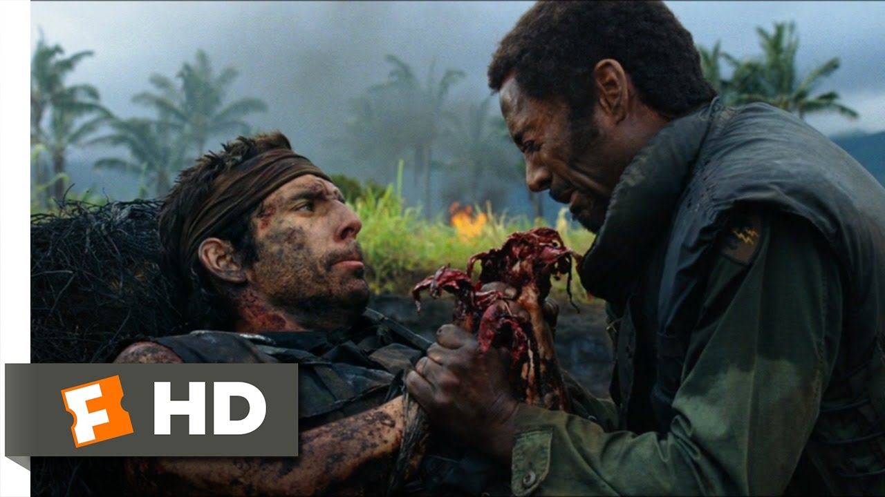 Tropic Thunder (2/10) Movie CLIP - Most Dramatic War Movie ...