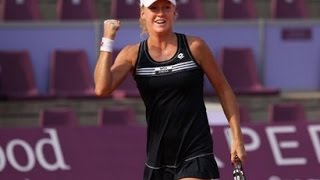[HD] Urszula Radwanska vs Marion Bartoli Brussels 2012 Highlights