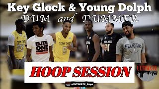 Young Dolph & Key Glock Hoop Session feat  Dedric Lawson, Chris Chiozza, Grove Hero and Jonathan Law