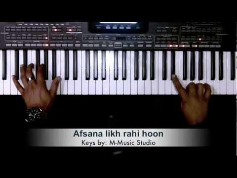 Afsana Likh Rahi Hoon Dil E Beqarar Ka Piano Cover