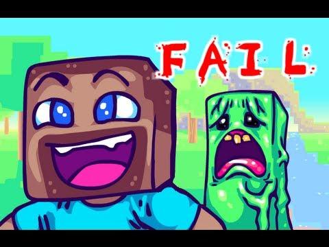MINECRAFT FAIL. A Minecraft Parody (18+)