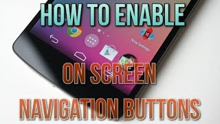 How To Get On Screen Navigation Buttons On Any Android Device [ROOT] | Redmi 2
