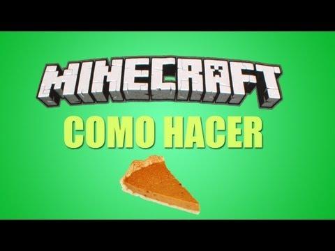★ Minecraft Tutorial - Como hacer tartas de calabaza