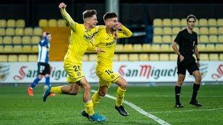 Highlights Villarreal B 1-0 Hércules