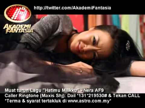 Nera AF9 - Hatimu Milikku With Lyric .avi Music Videos