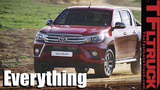 The New Toyota Hilux: Everything You Ever Wanted to Know