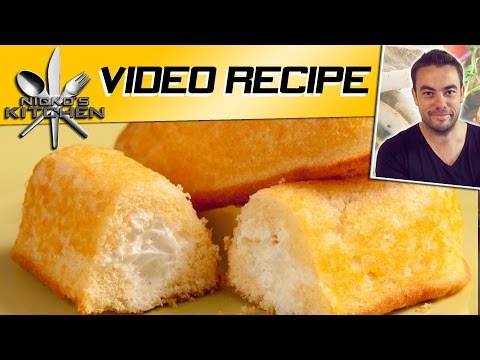 How To Make Twinkies Video Recipe Youtube