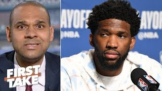 Joel Embiid needs to step up and force a Game 7 – Jared Dudley | First Take