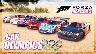 Forza Horizon 3 - Best Car From Each Country! (Forza Olympics)