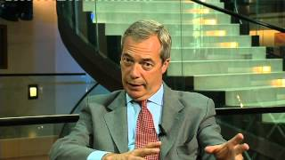 Nigel Farage on refugees: Farage doing what Farage can do best