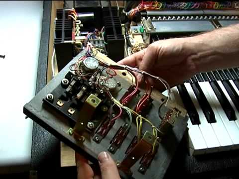 Saving the Yamaha CS-80 (2) The Power Supply Music Videos