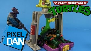 Flushomatic Teenage Mutant Ninja Turtles Ooze Playset Video Review (Retro Toy Rewind)