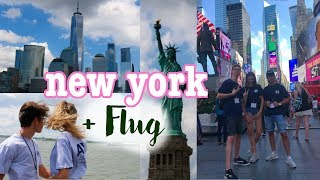 FLUG nach NEW YORK CITY ~ Orientation Days ♥︎ Jackie Alice