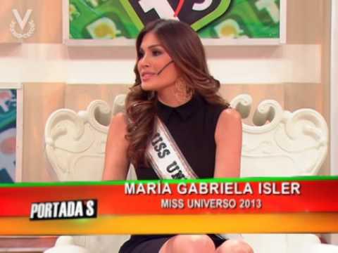 Miss Universo 2013, Gabriela Isler en Portada's